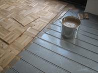 Houten Vloeren Vloerverwarming : Vloerverwarming voor houten vloer ten dam vloeren